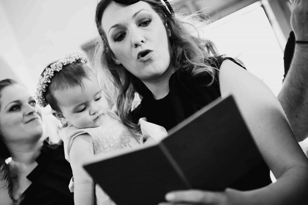 Βάπτιση Καρδίτσα νονά νονός