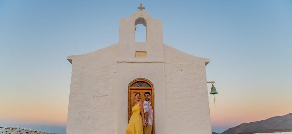 Pre Wedding Φωτογράφιση Γάμος στην Κύθνο