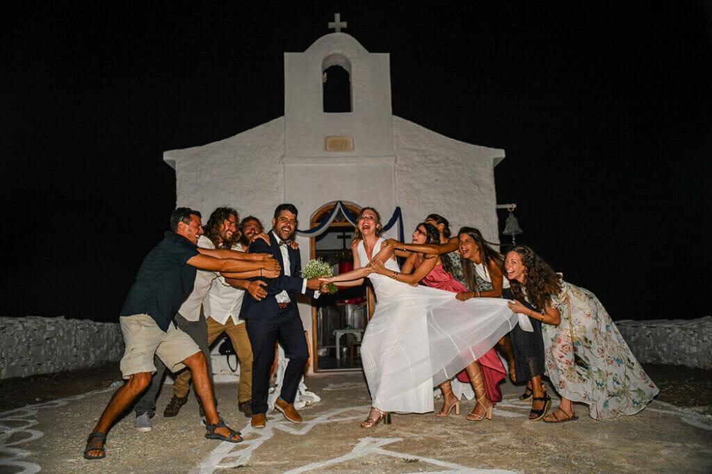Φωτογράφιση Γάμος στην Κύθνο